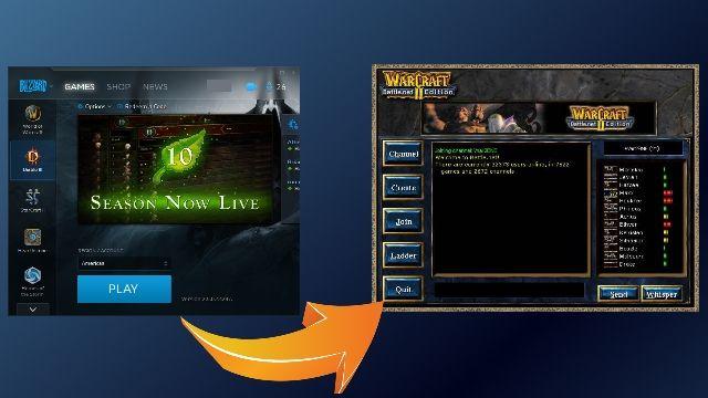 Classic Battle.net Theme Coming soon! (April fools day joke) #games #Starcraft #Starcraft2 #SC2 #gamingnews #blizzard