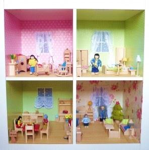noch ein expedit Puppenhaus. Mit Außenfassade