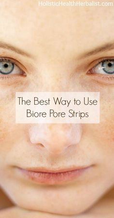 The Ultimate Pore Strip Secret- The Best Way to Use Biore Pore Strips- So I quite recently discovered a cool little trick to use with pore strips. This method will greatly improve the results, because we all know that Biore Pore Strips are expensive, and let's face it, they aren't always very effective at removing all of those blackheads. #blackheads #porestrips #acne #beauty
