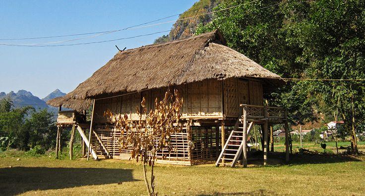 Son La and the nearby tourist village at the town. #vietnam #sonla #village #tourism #travel