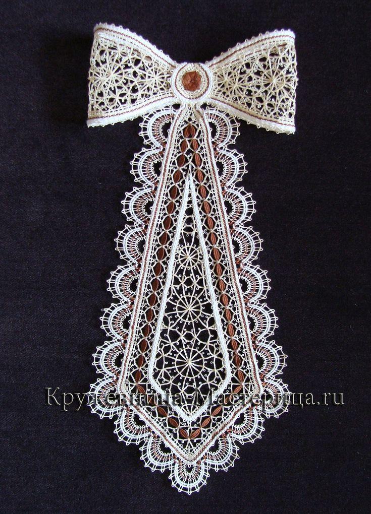 Такие разные женские галстуки | Кружевница - мастерица