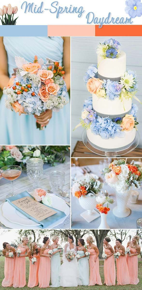 450 best Spring: Wedding Color Schemes images on Pinterest | Spring ...