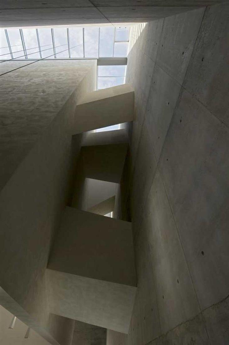 A monolith of pure geometry http://www.morfae.com/a-monolith-of-pure-geometry/ #architecture #modern #minimal #church