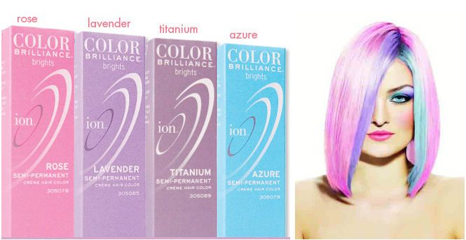 ion pastel hair color photo - 1