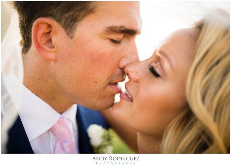 Laguna Beach Wedding - Bride and Groom Portrait
