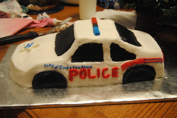 Police Car Birthday Cake Ideas And Designs