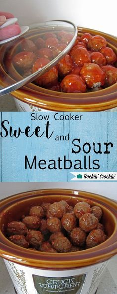 This recipe for Sweet and Sour Meatballs is my favorite to take to potlucks and my favorite to share when asked for a favorite recipe.  It's delicious!  It's a favorite for kids, too.