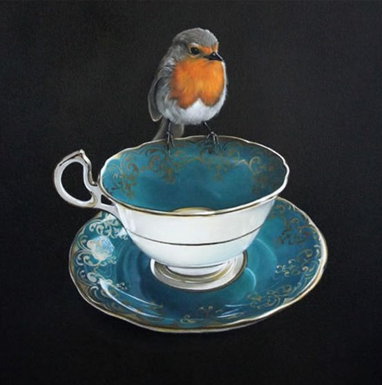 Robin's Rest - by Auckland artist, Jane Crisp. Available from Image Vault Ltd