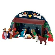 Lanka Kade Nativity Scene