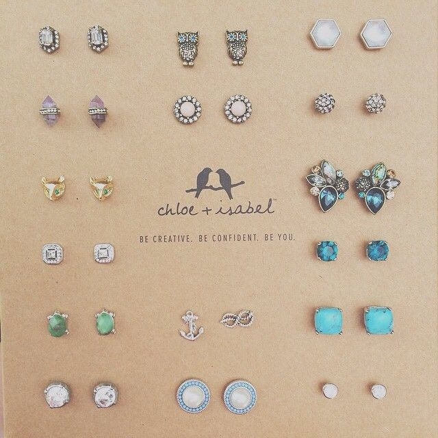 Anything similar to these is great. I love simple, stud earrings for everyday wear.