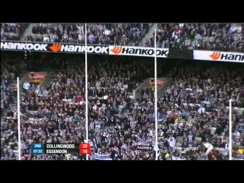 Published on Apr 25, 2012 by BigPondAFL  Watch the match highlights of the clash between Collingwood and Essendon from Round 5 of the AFL Premiership.  The Bombers finally lose their first for the year and by the barest of margins... 1pt!