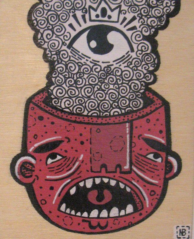 Urban Folk Artist, Nick Brunt www.argylefineart.blogspot.com
