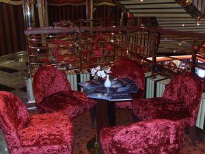 Costa Pacifica: Costa Pacifica - Atrium Seating Area