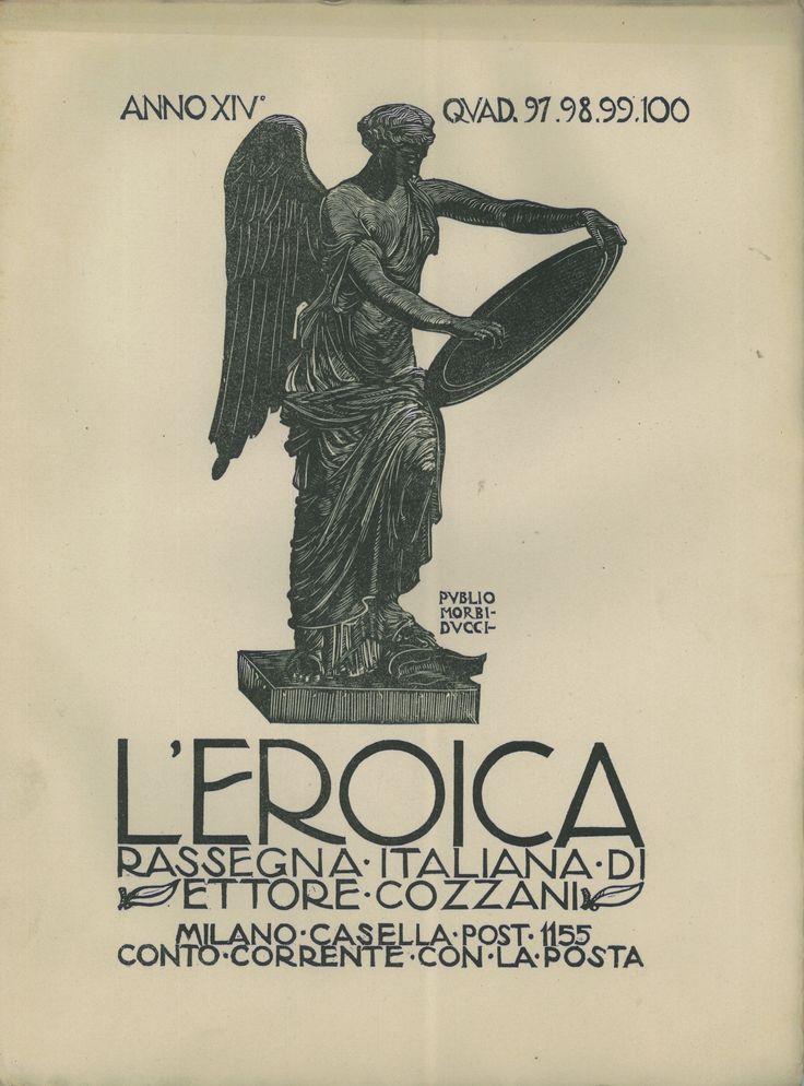 L'Eroica, quaderno numero 97-98-99-100 - #scripomarket #scripofilia #scripophily #finanza #finance #collezionismo #collectibles #arte #art #scripoart #scripoarte #borsa #stock #azioni #bonds #obbligazioni