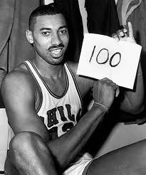50 years ago today,March 2nd, Wilt Chamberlain became the first and only man to score 100 points in a game in the NBA!