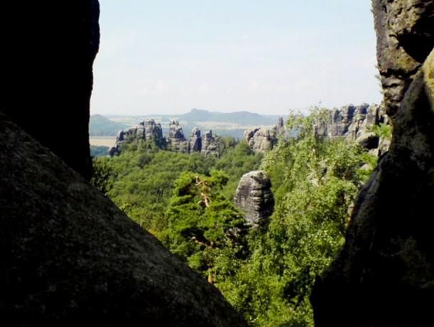 The Painter's Trail or the Malerweg, in east Germany