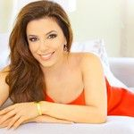 Eva Longoria wearing Folli Follies Carma Bangle.