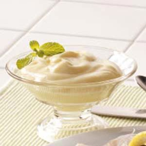 Vanilla pudding from scratch - not exactly my recipe but still creamy and delicious