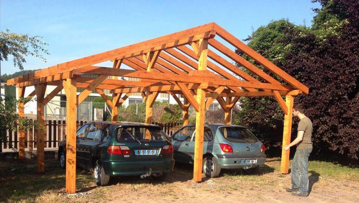 """Résultat de recherche d'images pour """"abri voiture bois"""""""