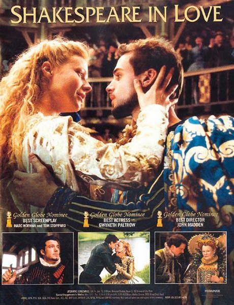 """Dicas de Filmes pela Scheila: Filme: """"Shakespeare Apaixonado"""""""