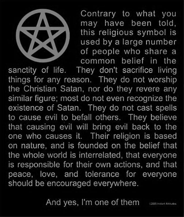 wicca a religion based on earth and Wicca is a neo-pagan, earth-centered religion that has its modern origins in the teaching and practice of the original english wiccan, gerald gardner (1884-1964) today, wicca is experiencing dramatic growth as teens reject what they perceive as christian paternalism, homophobia, and insensitivity to the environment.