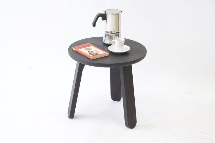 Small Side Table | Modern Black Side Table | Stir Side Table by KROFT