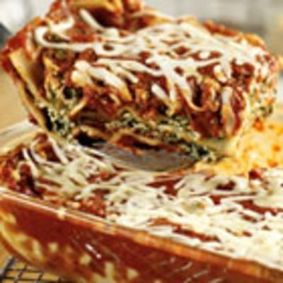 Extra-Easy Spinach Lasagna: Lasagna Noodles, Recipes Food, Extra Easy Spinach, Spinach Lasagna, Yummy, Pasta Sauces, Cooking, Lasagna Recipes, Extraeasi Spinach