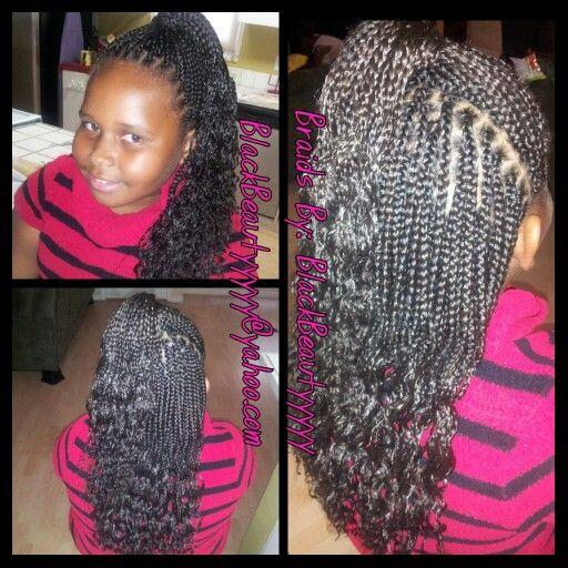 Kids Braids Little Girl S Hairstyles By Blackbeautyyyyy