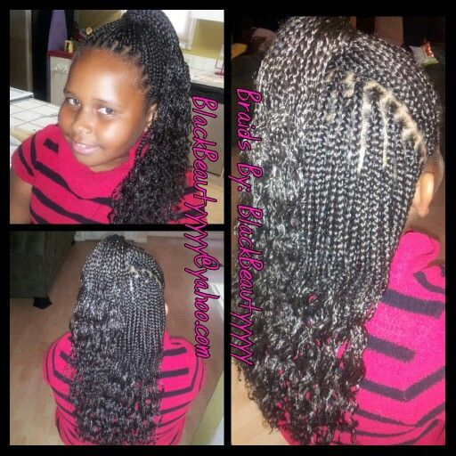 Peachy 1000 Images About Kid39S Individual Braids Amp Twists On Pinterest Short Hairstyles For Black Women Fulllsitofus