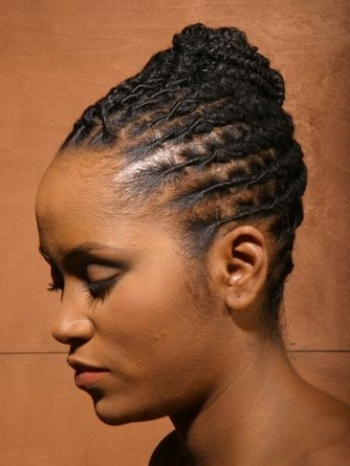 Prime 1000 Ideas About Black Hairstyles Updo On Pinterest Gray Hair Short Hairstyles For Black Women Fulllsitofus