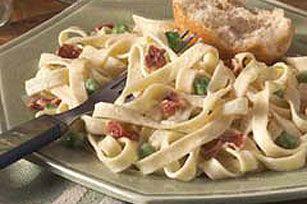 Easy Fettuccine Carbonara Recipe