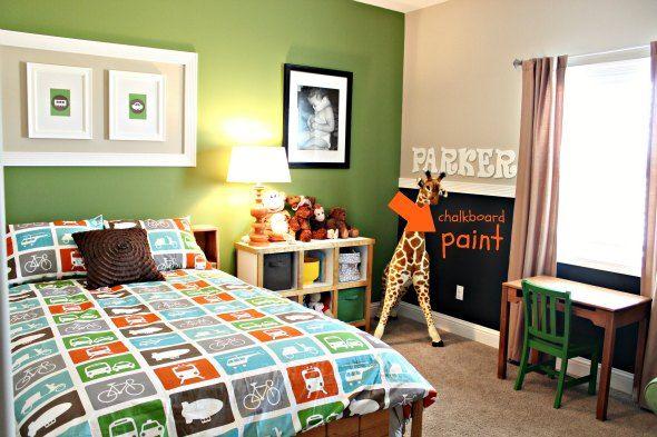 Perfect Toddler Boys Bedroom Paint Ideas Big Boy Room Pinterest Pojkar Sm Barn Och Valspar D In