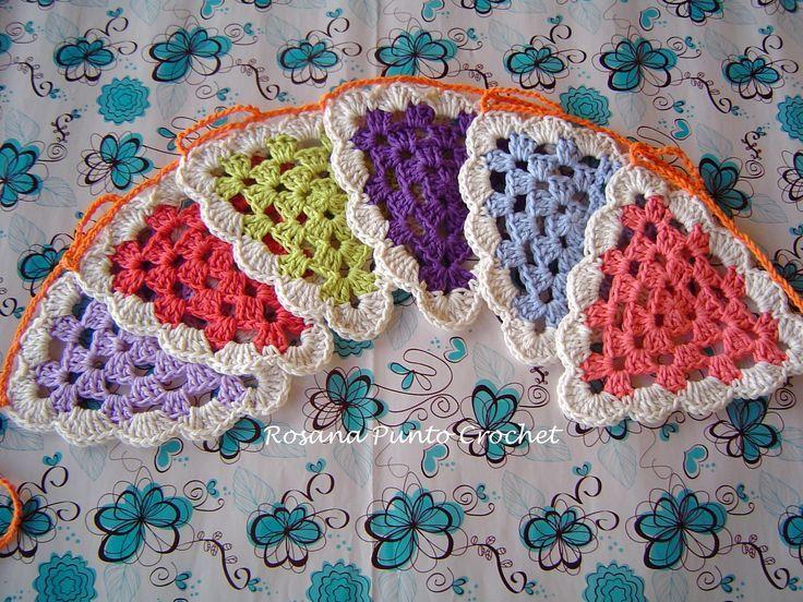 Resultado de imagen para banderines a crochet