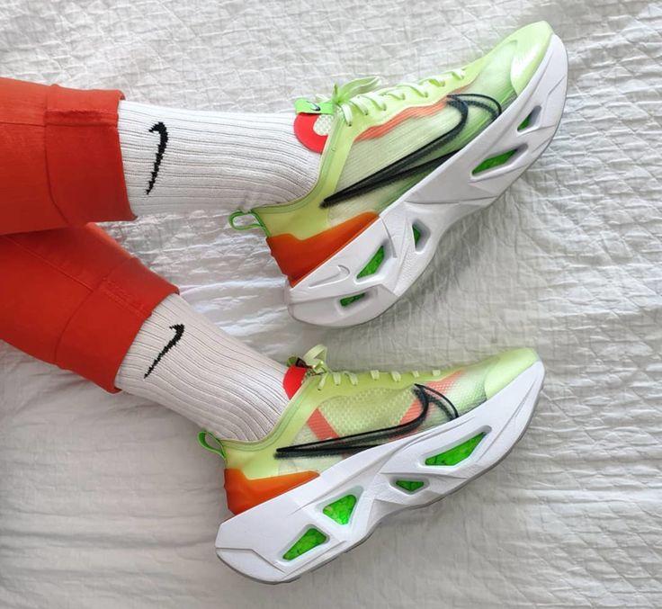 Nike ZoomX Vista Grind vert fluo (2019) | Nike compensee ...