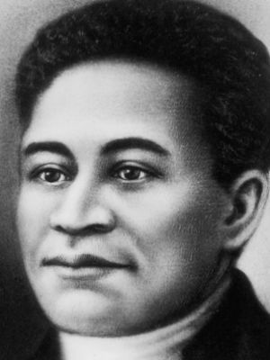Crispus Attucks: The former slave was the first casualty of the American Revolutionary War when he was killed during the Boston Massacre. In 1888 the Crispus Attucks monument was unveiled in the Boston Common.