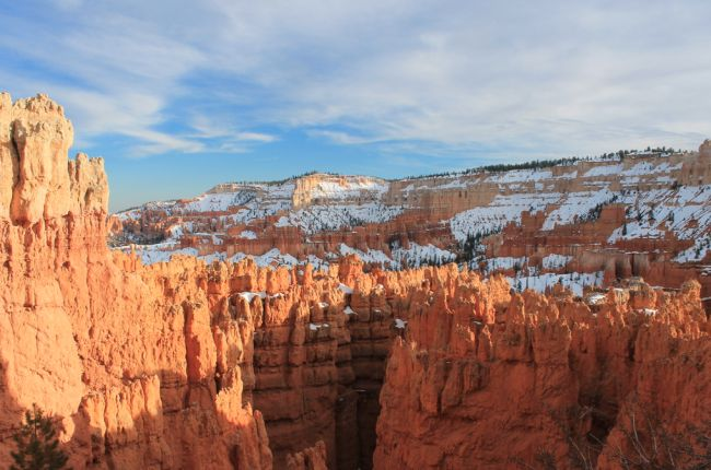 Visiting Bryce Canyon in Utah in March