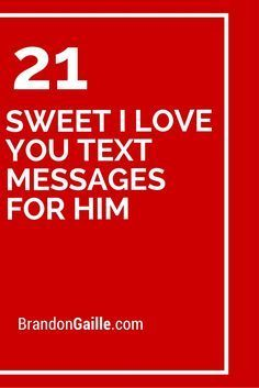 i love you text messages for him - photo #7
