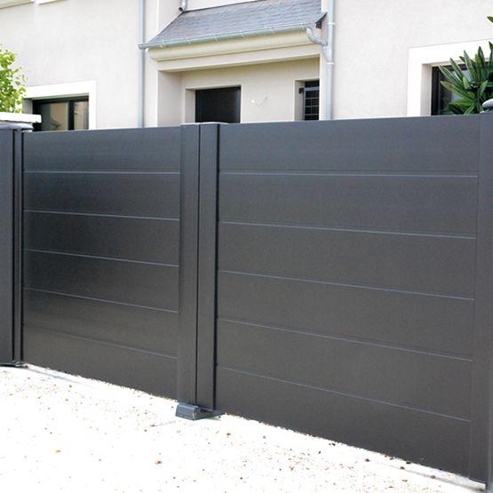 Les 124 meilleures images du tableau j mon portail sur pinterest portes de garage portails - Portail maison moderne ...