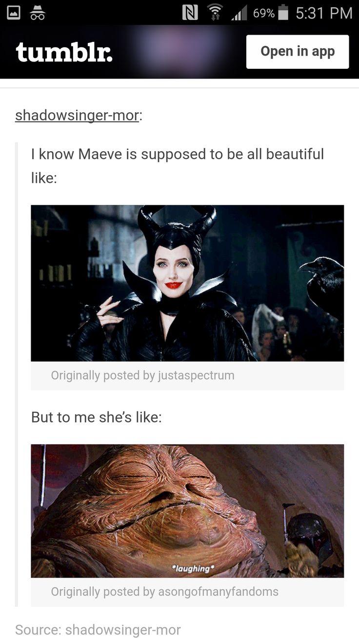 Actually....Angelina Jolie would make a FANTASTIC Maeve