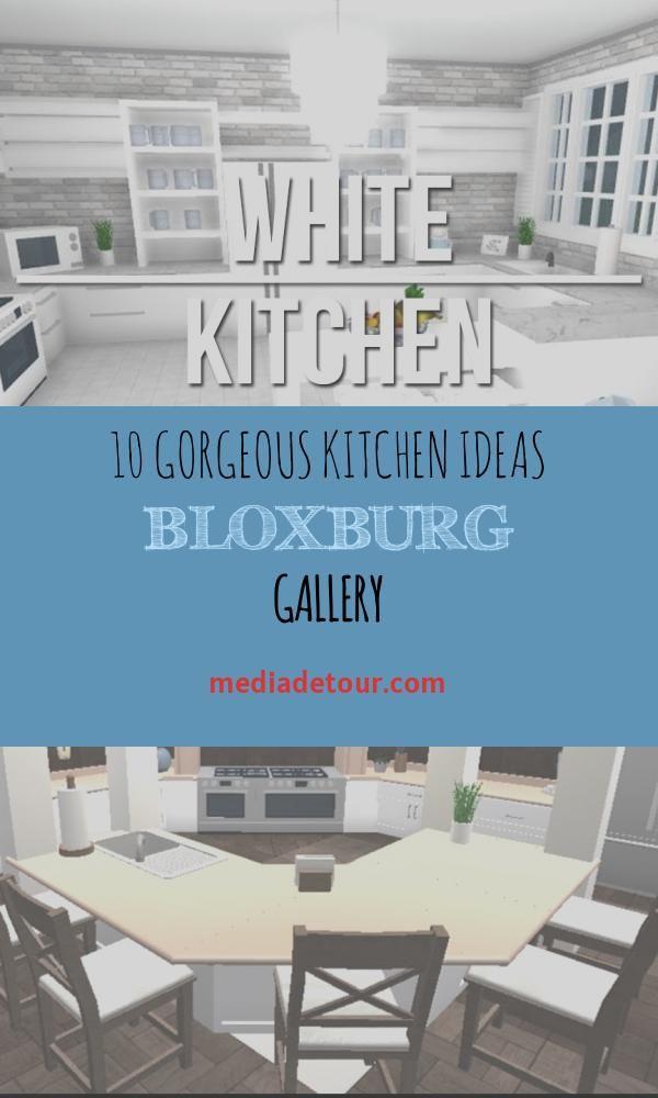 10 Gorgeous Kitchen Ideas Bloxburg Gallery In 2020 Gorgeous Kitchens Kitchen Inspiration Design Cute Kitchen