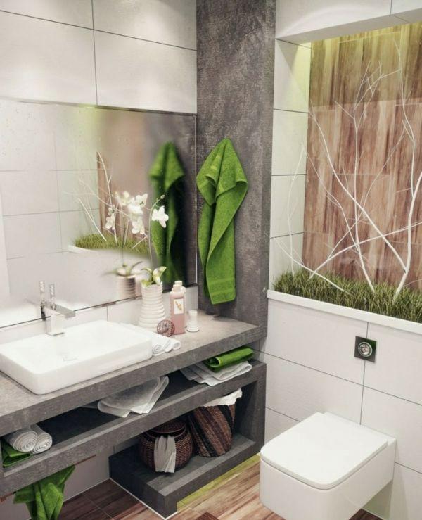 Kleines Bad funktionell gestalten – Schöne Interieur Lösungen ...