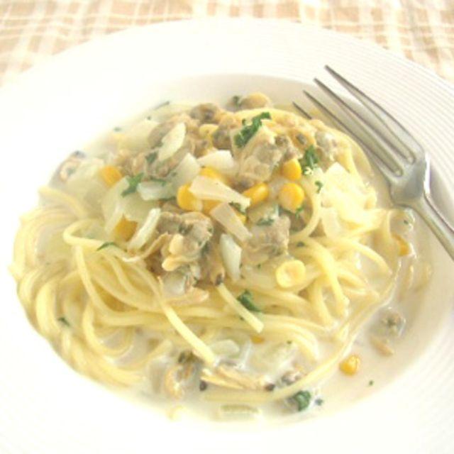 あさりのスープパスタのレシピ・作り方・食材情報を無料でご紹介しているページです。