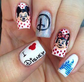 VJC Nails: Disney Nail Art