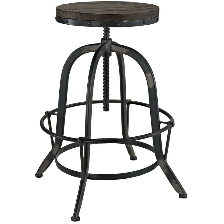Gather 5 wood Piece Industrial Dining Set