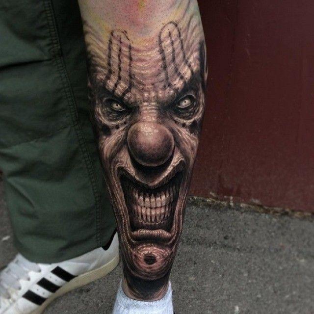 clown tattoo - Pesquisa Google