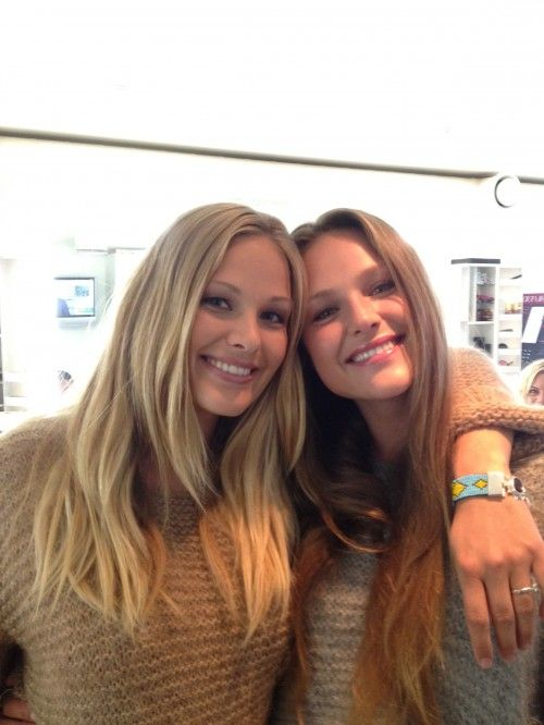 Dorthe og Sophia genseren