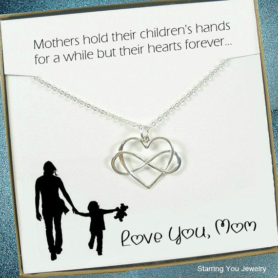Mom Necklace Gifts by StarringYouJewelry #momgifts #christmasgifts #mothersdaygift #mother #mom