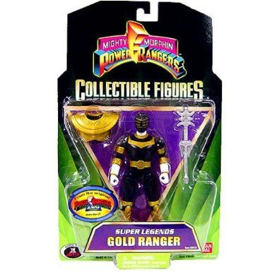 Amazon.com: Power Rangers Super Legends Collectible Action Figure Gold Ranger (Zeo): Toys & Games