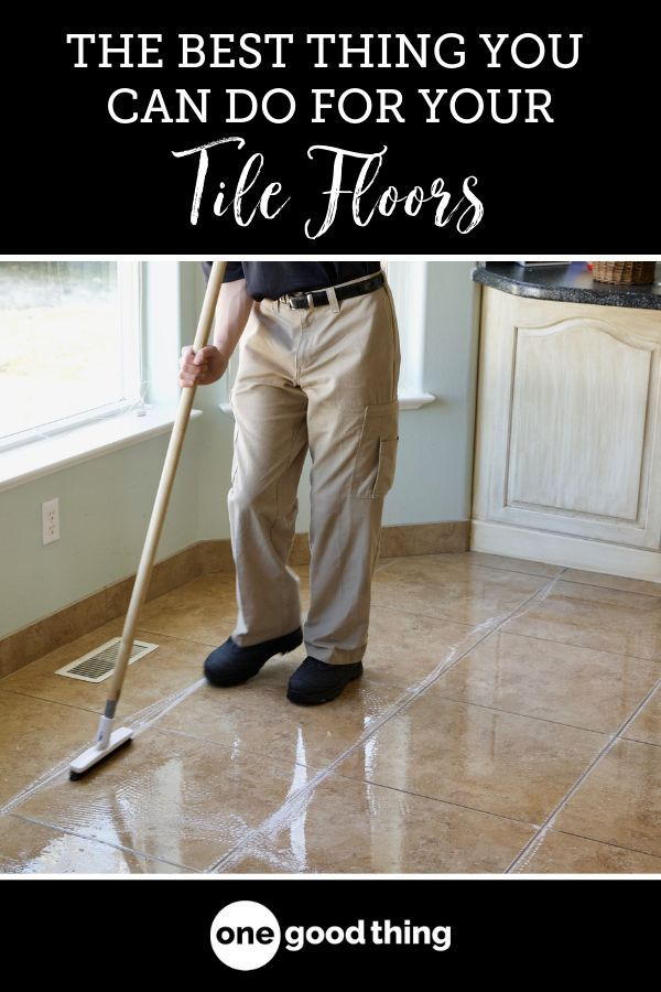 This Is The Best Thing You Can Do If You Have Tile Floors Tile