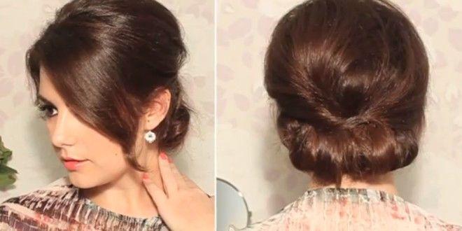 Chignon de diva façon sixties | tuto coiffure | beauté | diy